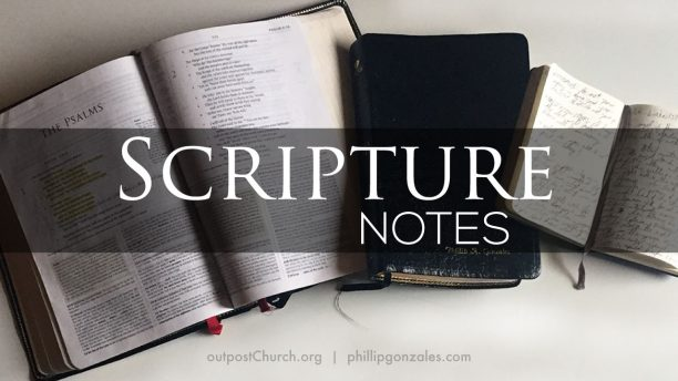 Scripture Notes Header